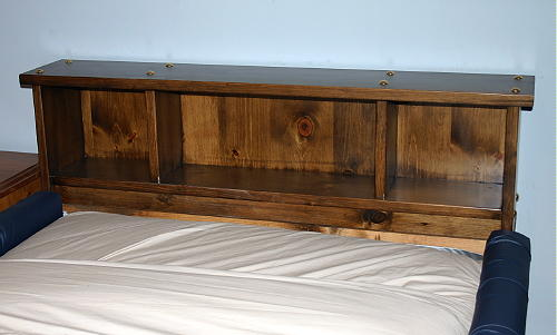 Alpine Pine Bookshelf Waterbed Frame And Futon