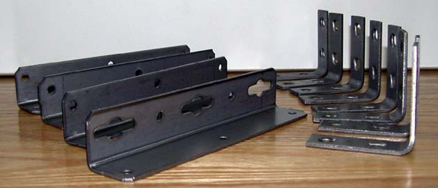 Wood Waterbed Frame Hardware Kit