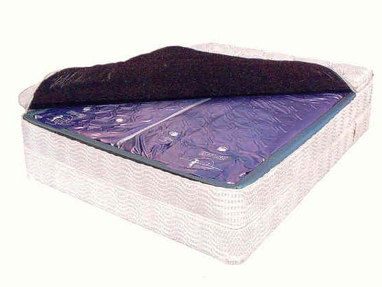 Dual Waterbed Mattress for softsided hybrid Waterbeds